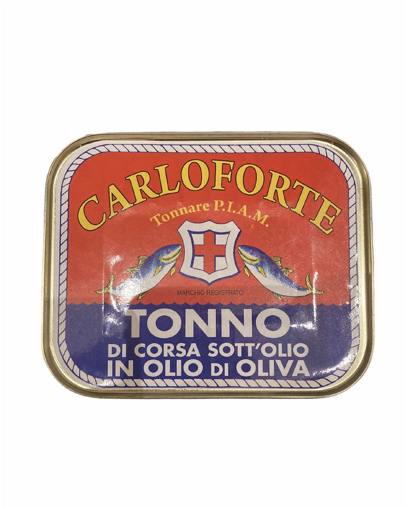 Carloforte Tonno Rosso di Corsa in olio di oliva 350 gr