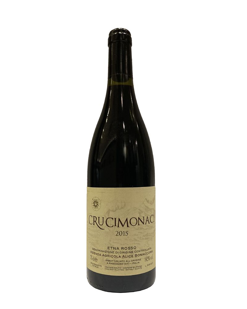 Crucimonaci Etna Rosso doc Alice Bonaccorsi 2015