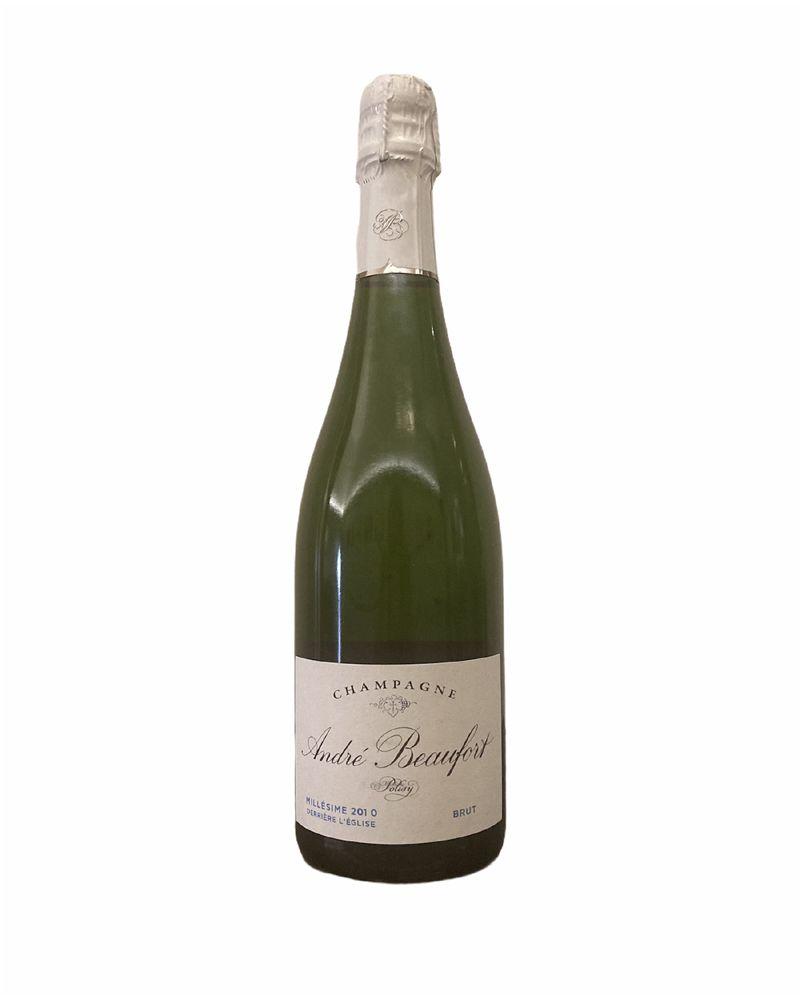Polisy Derrière l'Eglise Champagne André Beaufort 2010
